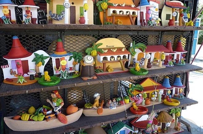 marché artisanal El Valle de Anton