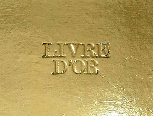 témoignage livre d'or